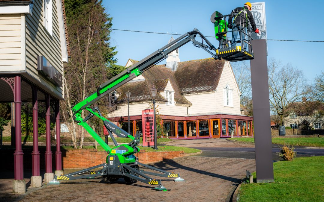 Reaching new heights with the new Leguan distributor in the UK